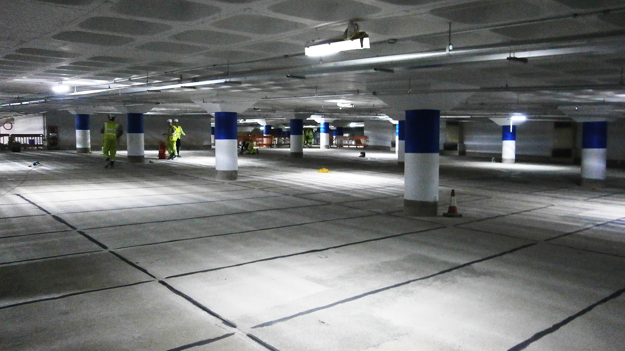 overview of the wolverhampton civic center after ZEBRA application